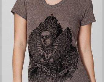 God Save the Queen Women's T Shirt American Apparel S, M, L, XL 8 Colors