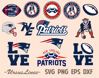 New England SVG Football svg Patriots svg Sport print Sport clipart Football clipart Football cut file