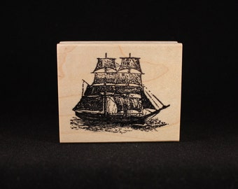 """Clipper Ship (2.25"""" x 2"""")"""