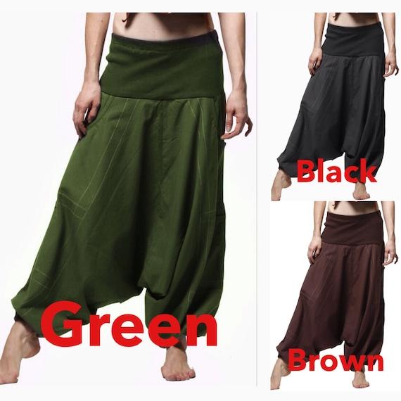 harem pants - UNISEX yoga trousers, mens harem pants, aladdin pants, harem pants men, harem trousers, Tctrkt
