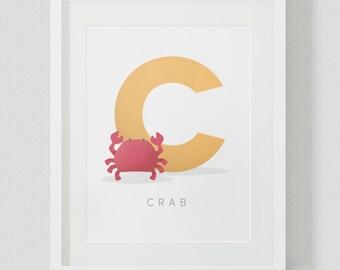 Alphabet Letter Animal Printable