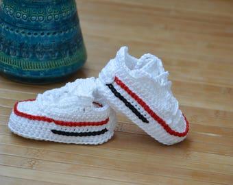 crochet converse,crochet shoes, crochet
