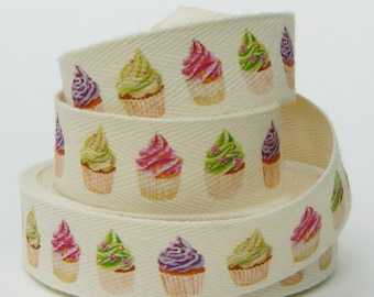 Cupcake 20 mm Catherine Martini collection twill tape
