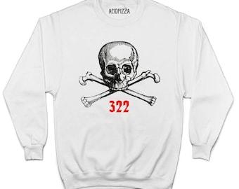 Skull And Bones Society Sweatshirt