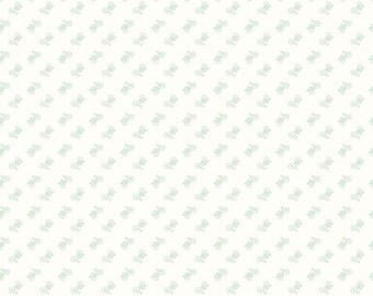 Bee Backgrounds By Lori Holt Bicycle Mint (C6389-Mint)