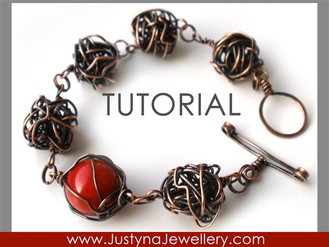 Wire Bracelet Tutorial Bangle Tutorial Wire Knot Tutorial
