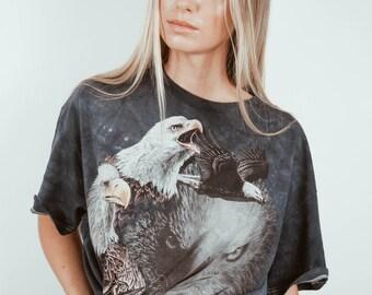 Vintage USA Vacation T-Shirt || Vintage American Flag T-Shirt || USA Shirt || USA Eagle Shirt