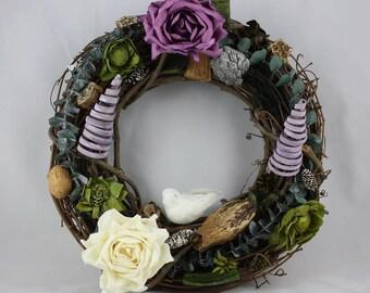 "12"" Woodlands Wreath"