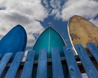 Large surf picture, Surfboards, large surf art, surf wall decor, surfboard wall decor, surf art, surf decor, surf art prints, surf photos