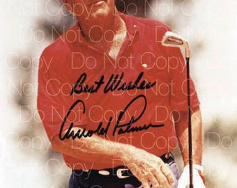 Arnold Palmer signed 8X10 photo picture poster autograph RP
