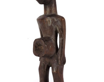 Miniature Male with Cavity Congo African Art 111103