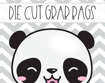Die Cut Grab Bags //  Random Pull Grab Bags // 10 Die Cuts Per Bag