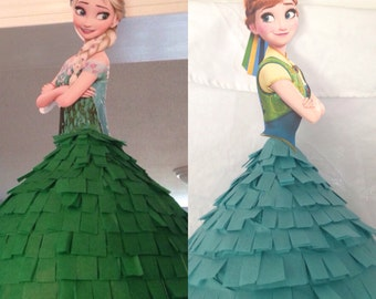 Disney Princess Piñata - Frozen Fever Elsa or Anna