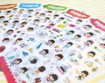 Everyday Sticker - 6 sheets