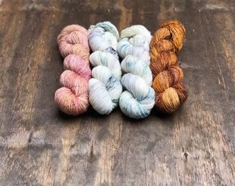 Baubles Shawl Kit A - PREORDER - Hand Dyed Yarn - Andrea Mowry