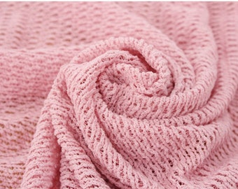 Stretchy Mesh KNIT Fabric in 10 colours, by Yard