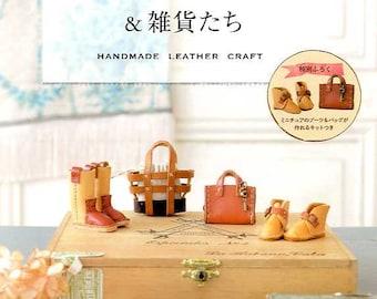 Handmade Leather Craft - Japanese Craft Book