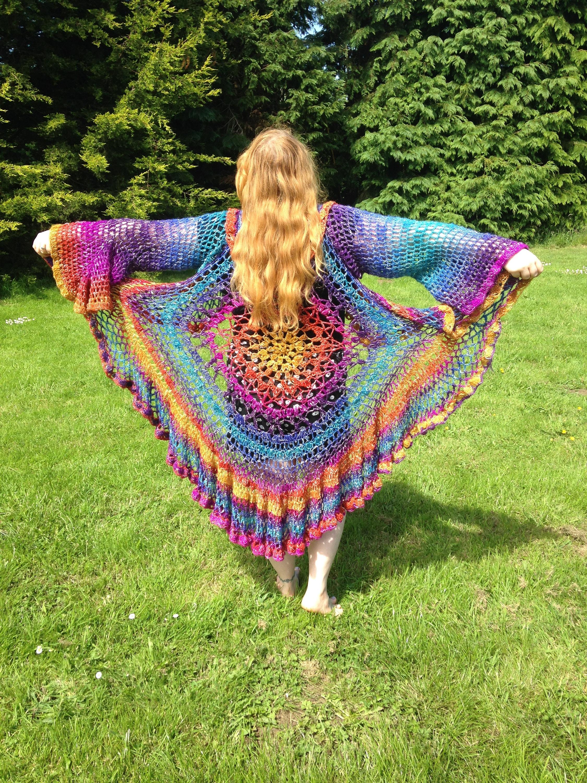 Hippie handgemachte Festival Kleidung Schal Boho Schal