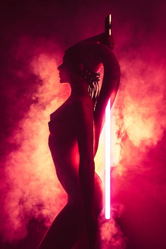 Items similar to Nude Sith Twilek - Cosplay Photo Print