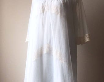 vintage lace nightgown