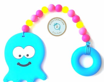 Jellyfish silicone toy