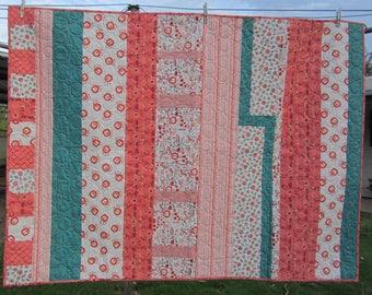 Handmade quilt, childs quilt, baby gift, blanket