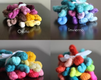 Embroidery Yarn Bouquets