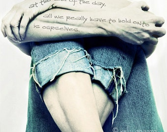 fine art body photography, conceptual fine art photograph by Kelly Angard - female woman arms legs, writing