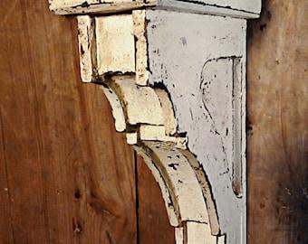 Handmade  Wooden Corbels, set of 2