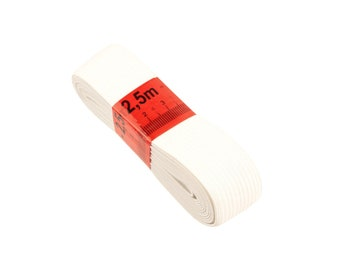 Rubber band White 2.5 m 30 mm