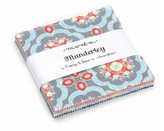 Manderley Charm Pack 47500PP by Franny & Jane for Moda
