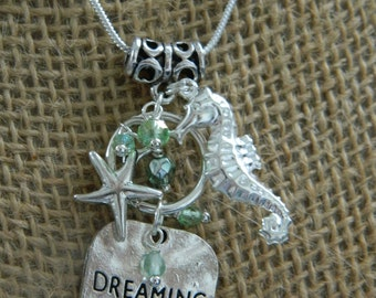 Dreaming of the Sea on Sterling Silver chain