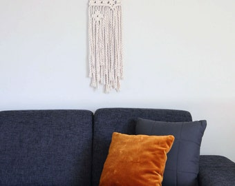 Long Macrame Wall Hanging | Modern Macrame | Tapestry | Wall Hanging | Boho Decor