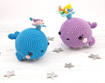 Amigurumi Jellyfish : Crochet pattern amigurumi jellyfish pattern sea animal