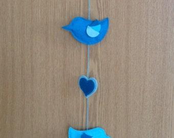 Lovebird Hanging Decoration