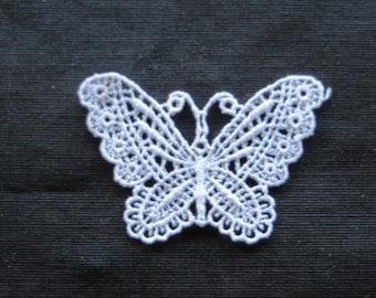 Butterfly Applique Venise Lace 6009