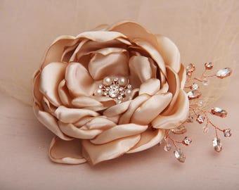 Wedding Headpiece, Bridal Hair Piece, Bridal Hair Flower, Wedding Hair Piece, Bridal Fascinator, Bridal Headpiece, Wedding Accessory
