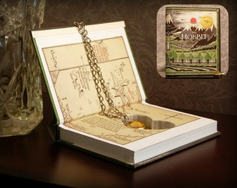 Hollow Book Safe with Heart - The Hobbit Pocket Edition - Secret Book Safe
