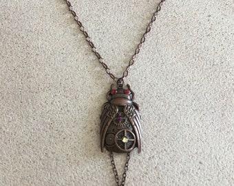 Bug Steampunk Necklace