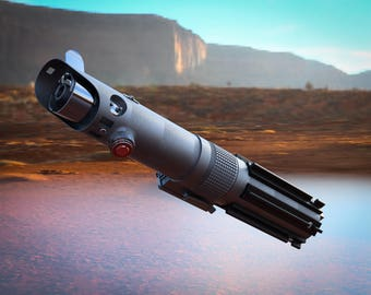 Luke Skywalker's Lightsaber - Digital 3d MODEL | Anakin Skywalker's second Lightsaber | Movie accurate Star Wars Prop | 3d Print Optimized