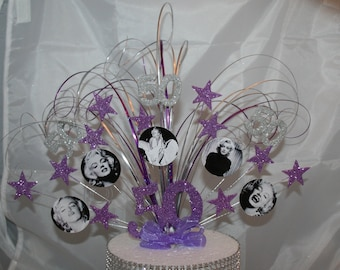 0067  Marilyn Monroe Cake Topper, Any Age, Any Colour/Colours, Birthday, Party, Cake Spray