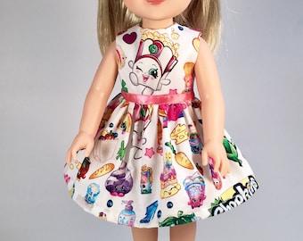 14.5 inch Doll Clothes / Doll Dress / Popcorn
