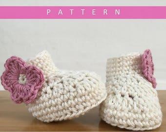 Crochet Booties Pattern/Booties Pattern/Crochet Baby Booties Pattern/Crochet Pattern/Baby Booties Pattern
