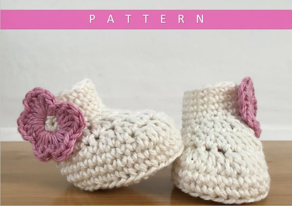 Crochet Booties Patternbooties Patterncrochet Baby Booties