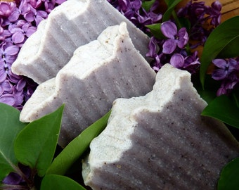 Lilac, Homemade Soap, Natural Soap, Vegan Soap, French Lilac & Lavender 4.5-5 oz.