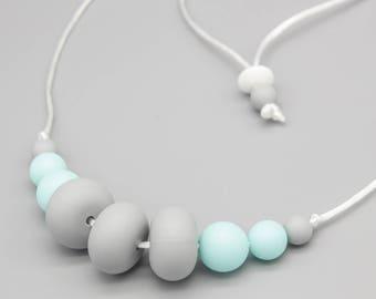 "Necklace/Still Chain ""Bailey"" Silicone Jewelry"