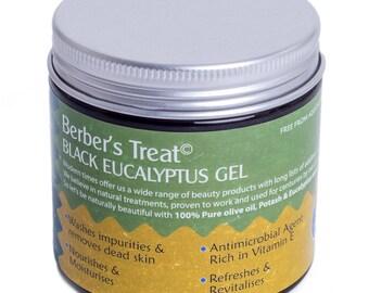 Schwarz Eukalyptus Reinigungsgel - marokkanischen Beldi Spap - 200ML