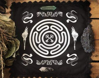 Hekate Goddess Altar Cloth