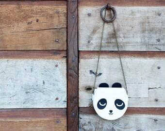 Borsa panda a tracolla