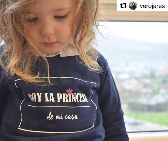 Girl sweater SOY LA PRINCESA